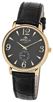Швейцарские наручные мужские часы Appella 4307-1014. Коллекция Classic