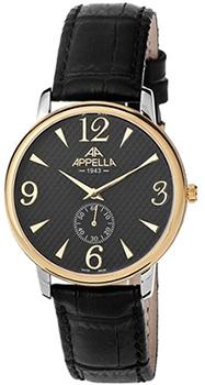 Купить Часы мужские Швейцарские наручные  мужские часы Appella 4307-2014. Коллекция Classic  Швейцарские наручные  мужские часы Appella 4307-2014. Коллекция Classic