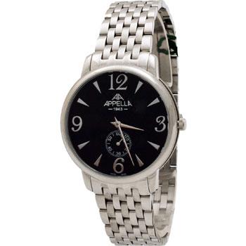 Швейцарские наручные  мужские часы Appella 4307-3004. Коллекци Classic