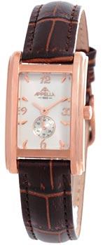 Швейцарские наручные  женские часы Appella 4346-4011. Коллекция Leather