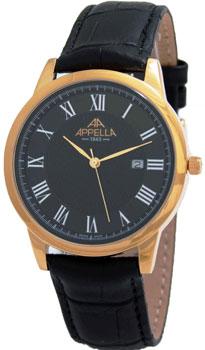 Швейцарские наручные  мужские часы Appella 4373-1014. Коллекция Classic от Bestwatch.ru