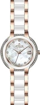 Швейцарские наручные  женские часы Appella 4392.42.1.0.01. Коллекция Ceramic