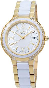 Швейцарские наручные  женские часы Appella 4394.41.1.0.01. Коллекция Ceramic