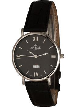 Швейцарские наручные  мужские часы Appella 4405.03.0.1.04. Коллекци Classic