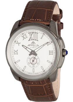 Швейцарские наручные  мужские часы Appella 4413.21.0.1.01. Коллекци Dress watches