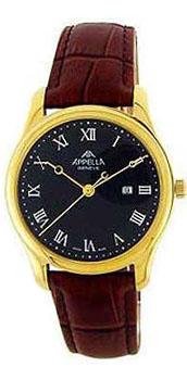 Швейцарские наручные мужские часы Appella 627-1014. Коллекция Classic