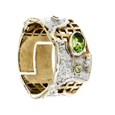 Серебряное кольцо  1072h