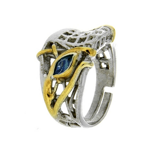 Серебряное кольцо  1081s