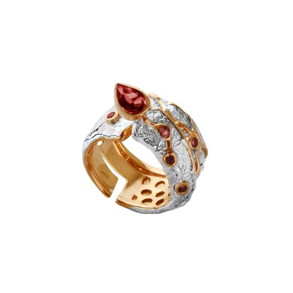Серебряное кольцо  1088g