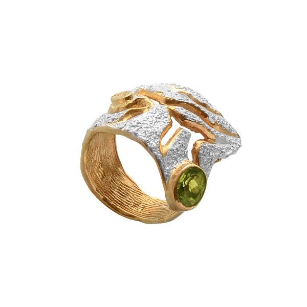Серебряное кольцо  1089h