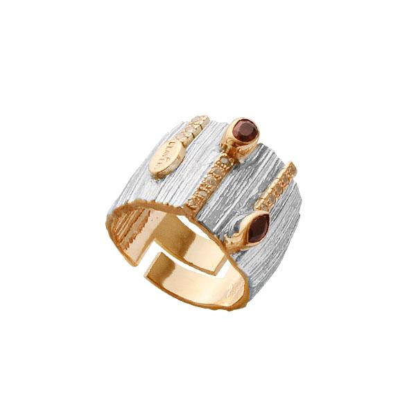 Серебряное кольцо  1096g