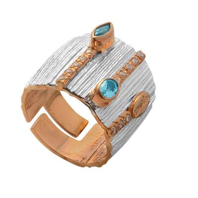 Серебряное кольцо  1096t