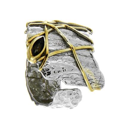 Серебряное кольцо  1102rt
