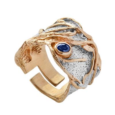 Серебряное кольцо  1110s