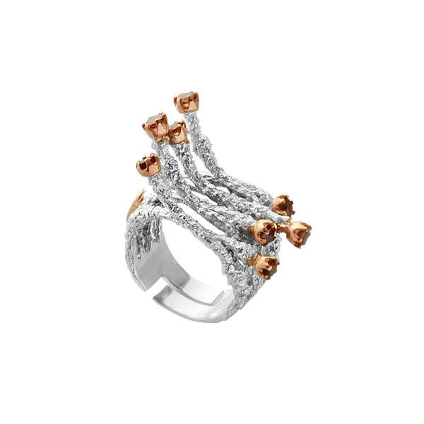 Серебряное кольцо  1131g