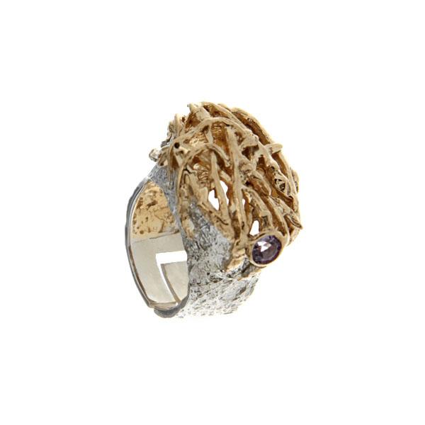 Серебряное кольцо  1136a