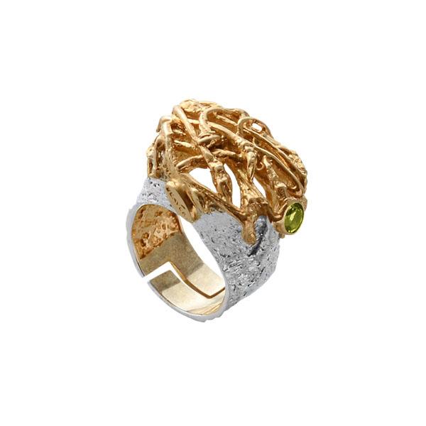 Серебряное кольцо  1136h