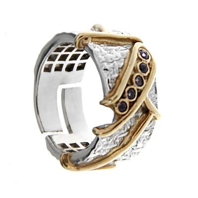 Серебряное кольцо  1141a