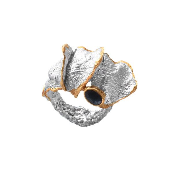 Серебряное кольцо  Ювелирное изделие 1159s