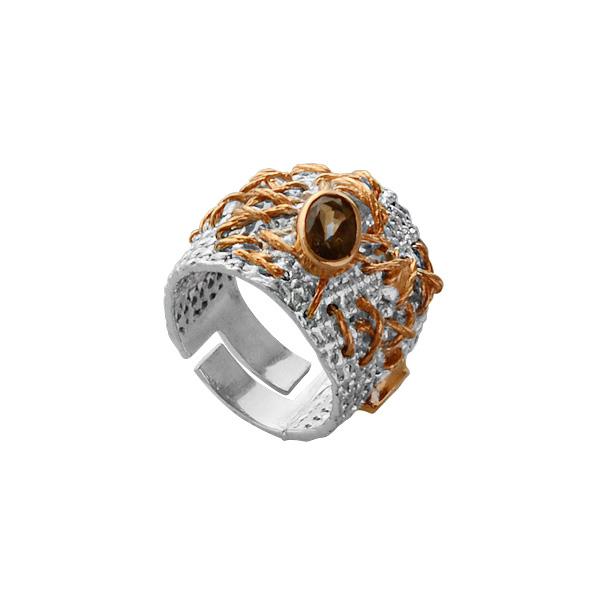 Серебряное кольцо  1183rt от Ювелирное изделие
