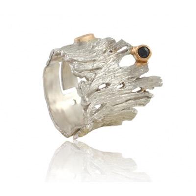 Серебряное кольцо  1190rt