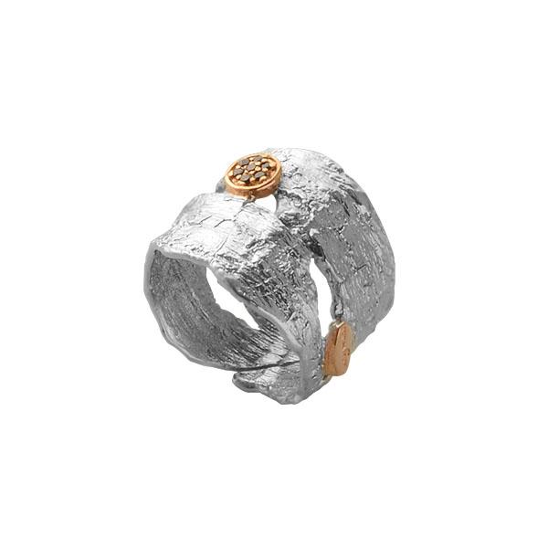 Серебряное кольцо  1223sh