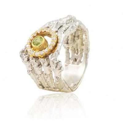 Серебряное кольцо  1284h