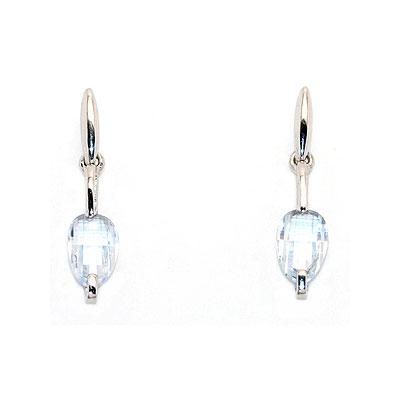 Серебряные серьги  0010054