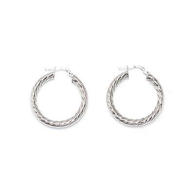 Серебряные серьги  0010144