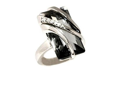 Серебряное кольцо  07194