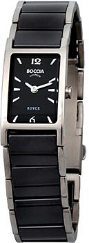 Наручные  женские часы Boccia 3201-02. Коллекция Ceramic
