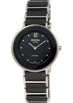 Наручные  женские часы Boccia 3209-03. Коллекция Ceramic