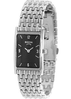 Наручные  женские часы Boccia 3212-08. Коллекция Titanium