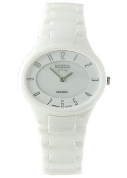 Наручные  женские часы Boccia 3216-01. Коллекция Ceramic