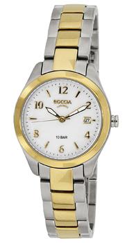 Наручные  женские часы Boccia 3224-02. Коллекция Dress