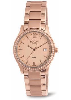 Наручные  женские часы Boccia 3235-01. Коллекция Titanium