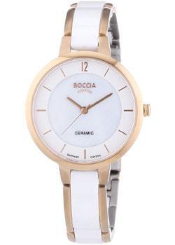 Наручные  женские часы Boccia 3236-03. Коллекция Titanium