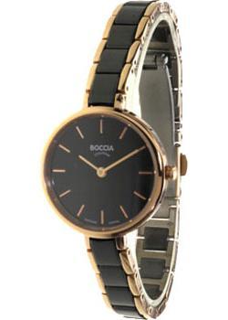 Наручные  женские часы Boccia 3245-03. Коллекция Ceramic