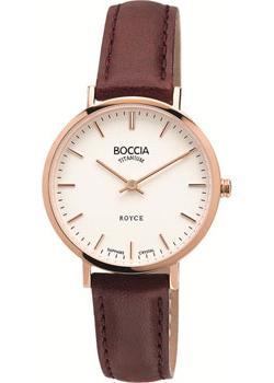 Наручные  женские часы Boccia 3246-02. Коллекция Royce