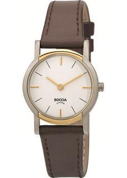 Наручные  женские часы Boccia 3247-02. Коллекция Titanium