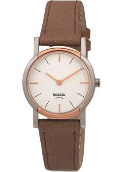 Наручные  женские часы Boccia 3247-03. Коллекция Titanium