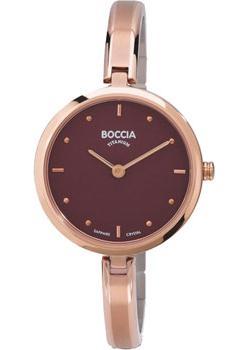 Наручные  женские часы Boccia 3248-03. Коллекция Titanium