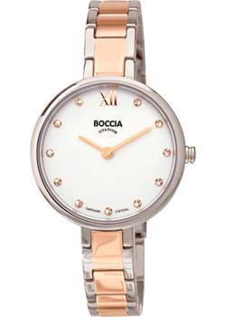 Наручные  женские часы Boccia 3251-02. Коллекция Titanium