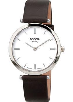 Наручные  женские часы Boccia 3253-01. Коллекция Titanium