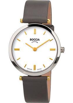 Наручные  женские часы Boccia 3253-03. Коллекция Titanium