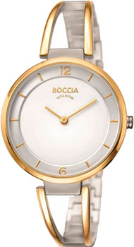 Наручные  женские часы Boccia 3260-02. Коллекция Titanium