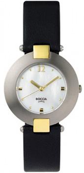 Наручные  женские часы Boccia 364-16. Коллекция 300 Series