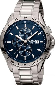 Наручные мужские часы Boccia 3751-01. Коллекция Titanium