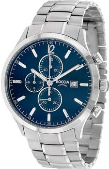 Наручные мужские часы Boccia 3753-03. Коллекция Titanium