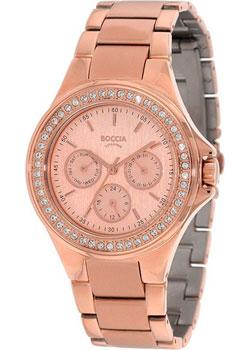 Наручные  женские часы Boccia 3758-02. Коллекция Titanium